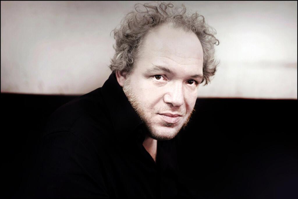 Portrait de l'écrivain Mathias Enard.