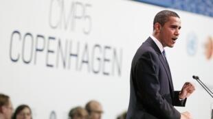 Barack Obama, le 18 décembre 2009.