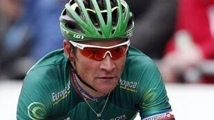 Le Français Thomas Voeckler et son équipe Europcar sont invités sur le Tour de France 2013.