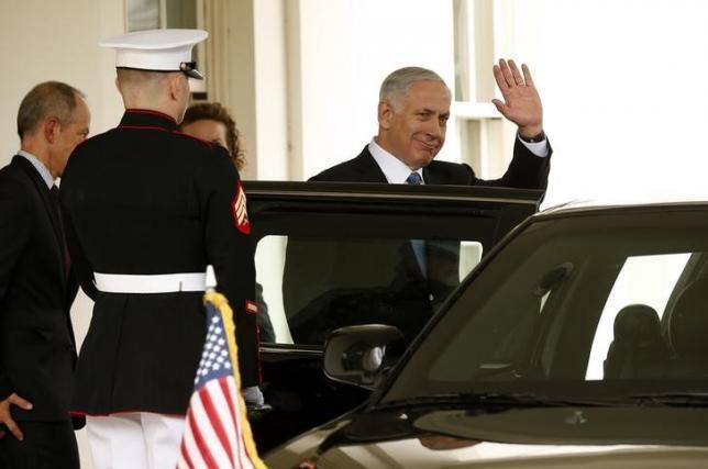 Foto de arquivo de visita de Benjamin Netanyahu à Casa Branca em 1° de outubro de 2014.
