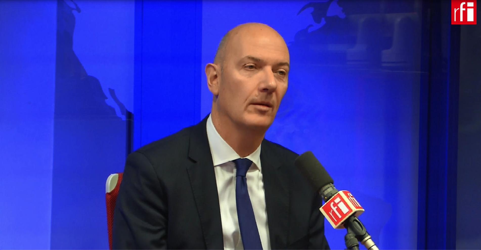 Roland Lescure sur RFI le 03 octobre 2018.
