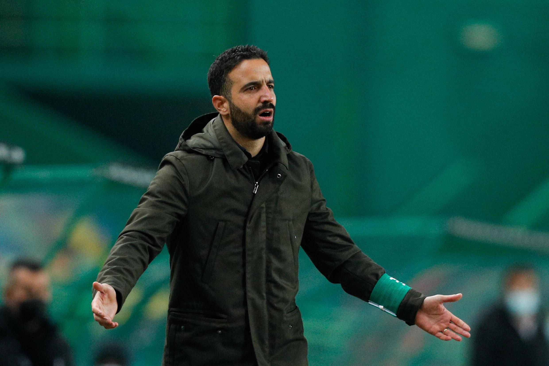 Rúben Amorim, treinador português do Sporting CP.