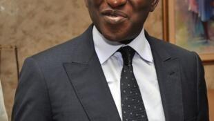 Soumaïla Cissé, chef de file de l'opposition malienne, après sa rencontre avec Ibrahim Boubacar Keïta, lundi 12 août 2013, à Bamako.