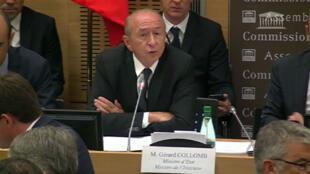 Bộ trưởng Nội Vụ Pháp Gérard Collomb.