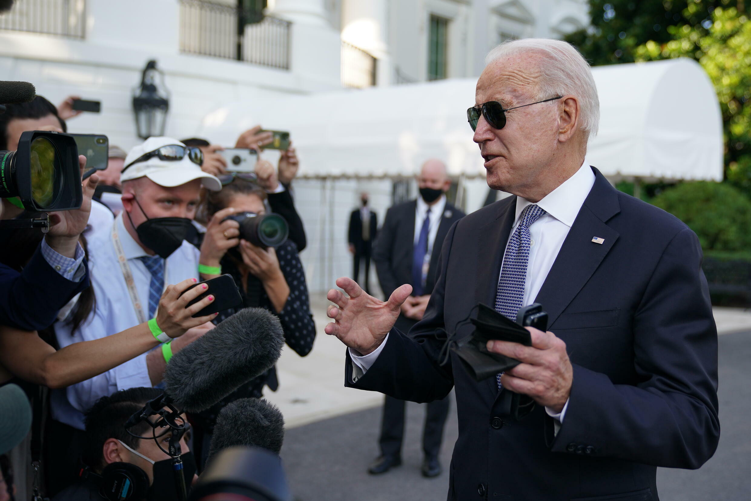 US President Joe Biden argued his massive spending proposals would make the economy more inclusive