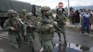 equateur prison emeutes armée etat urgence