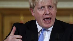 Shugaba Boris Johnson na Birtaniya.