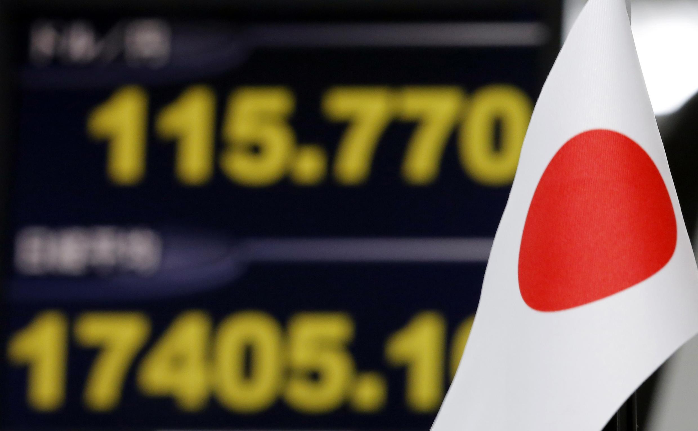 O Japão entrou oficialmente em recessão no terceiro trimestre de 2014.