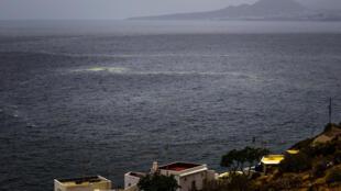 Una imagen de la costa este de Tenerife tomada el 5 de agosto de 2017 en esa isla del archipiélago español de las Canarias
