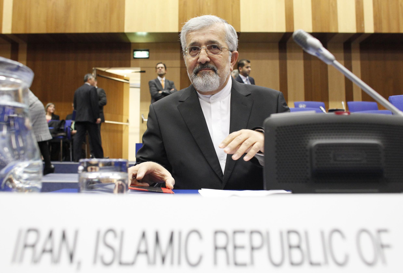 Али Асгар Солтание, посол Ирана при МАГАТЭ на заседании Совета Управляющих в понедельник 4 марта 2013 года