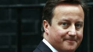 David Cameron, le Premier ministre britannique