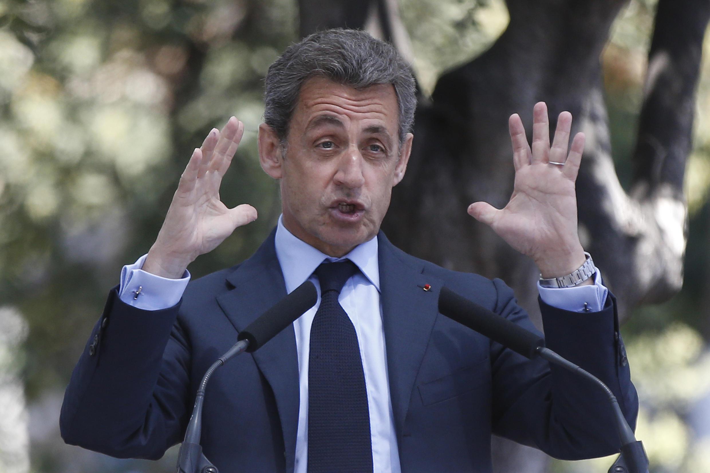 Nicolas Sarkozy à Nice, le 26 avril 2016.