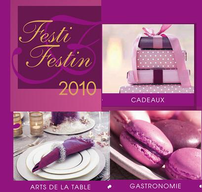 Festival de gastronomia francesa que aconteceu no leste da França, Festi Festin.