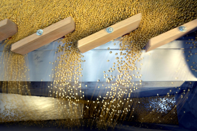 中國與美國大豆貿易圖