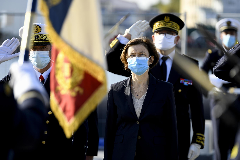 法國國防部長弗洛朗絲·帕利資料圖片