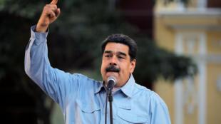 圖為委內瑞拉在位總統馬杜羅