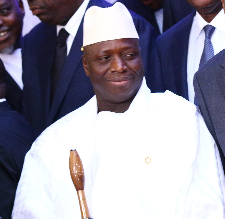 Shugaban kasar  Gambia Yahyah Jammeh