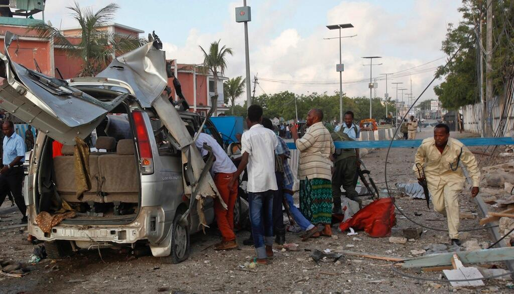 Shambulizi la bomu katika hoteli maarufu mjini Mogadishu nchini Somalia
