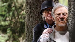 Mick Boyle (Harvey Keitel) et Fred Ballinger (Michael Caine) dans «Youth» de Paolo Sorrentino, en lice pour la Palme d'or du Festival de Cannes 2015.
