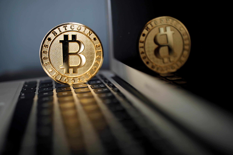 Un Bitcoin à la Maison du Bitcoin à Paris, en juin 2017.
