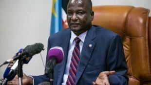 Le premier vice-président sud-soudanais Taban Deng Gai.
