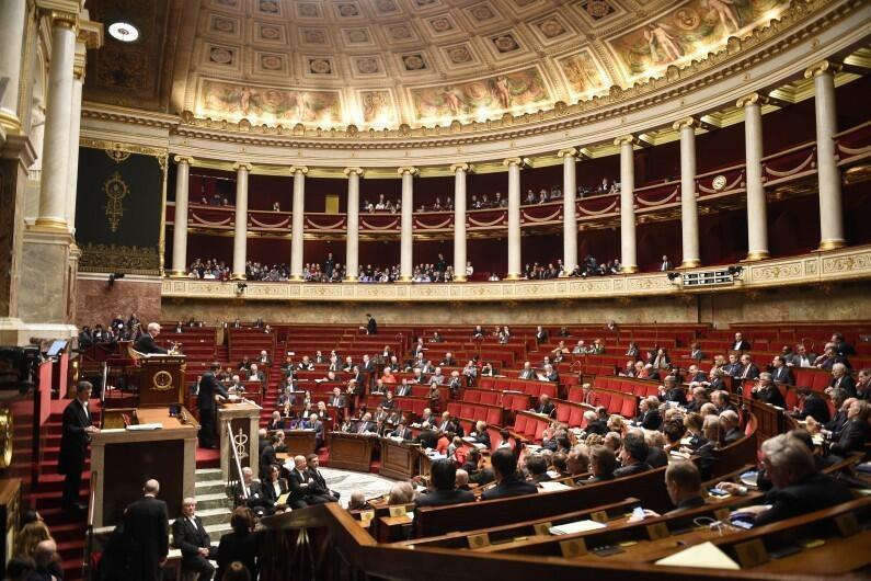 یکی از جلسات مجلس ملی فرانسه در تاریخ ١٩ فوریه ٢٠١۵
