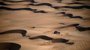 Nasser Al-Attiyah is bidding for his fourth Dakar title