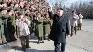 លោក  Kim Jong-un អគ្គមគ្គុទ្ទេសក៍កូរ៉េខាងជើង