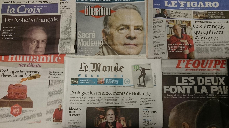 Primeiras páginas jornais franceses 10/10/2014