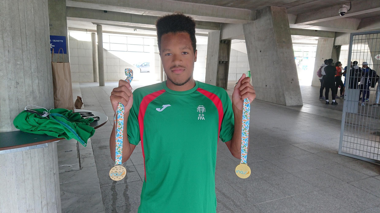 Sandro Baessa, atleta luso-cabo-verdiano, conquistou cinco medalhas, entre elas, uma de ouro.