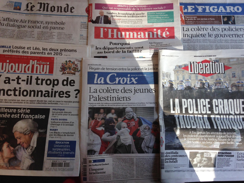 As manchetes desta quarta-feira 14 de Outubro