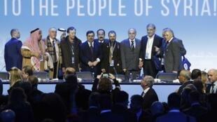 """""""Đại hội đối thoại quốc gia"""" Syria do Nga tổ chức tại Sotchi, ngày 30/01/2018."""