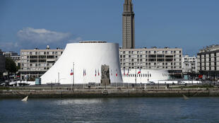 Oscar Niemeyer's Volcano in Le Havre, site of today's meeting between Edouard Philippe and his Russian counterpart, Dimitri Medvedev.