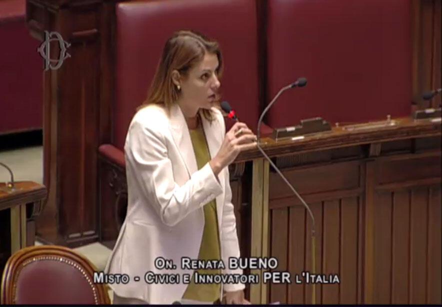 Intervenção da deputada Renata Bueno sobre a extradição de Battisti, no Parlamento italiano (11/10/2017).