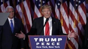 Discurso de vitória de Donald Trump