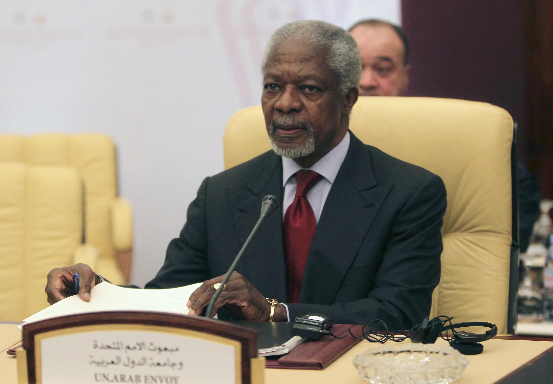 Mpatanishi wa Mzozo wa Syria, Koffi Annan