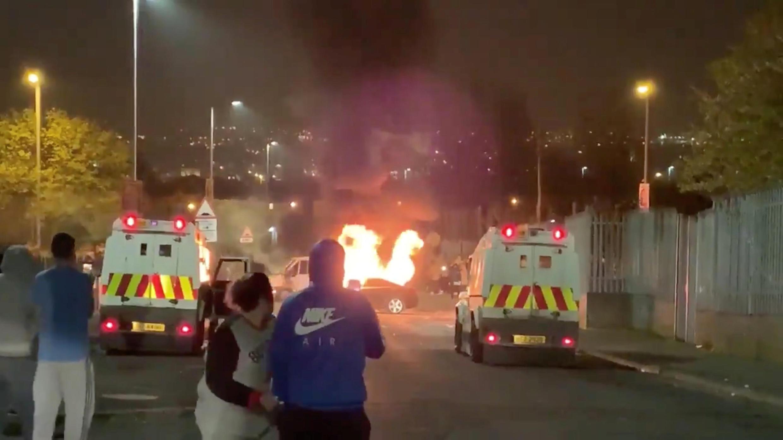 Londonderry fue escenario de enfrentamientos armados el pasado jueves 18 de abril.