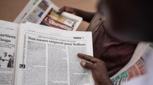 """""""Nos coeurs saignent pour Solhan"""" titre le journal burkinabè L'Observateur Paalga, lundi 7 juin 2021."""
