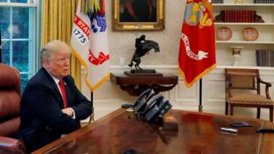 دونالد ترامپ رئیس جمهوری آمریکا