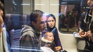 ًAllemagne : les demandeurs d'asile afghans à Frankfurt - 15 septembre 2015