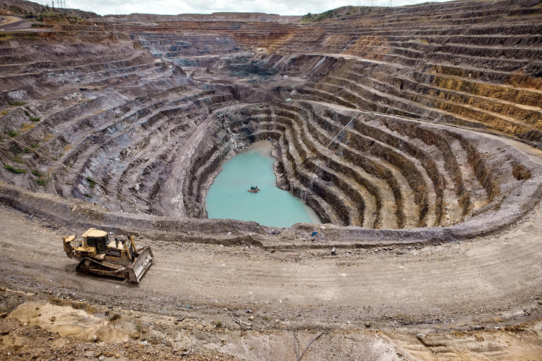 Une mine de cuivre à Kolwezi, dans le sud-est de la RDC.