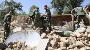 2013年7月22日甘肃定西发生6.6级地震造成严重伤亡