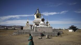 Монастырь Эрдэни-Дзу, Монголия, 20 октября 2013 года