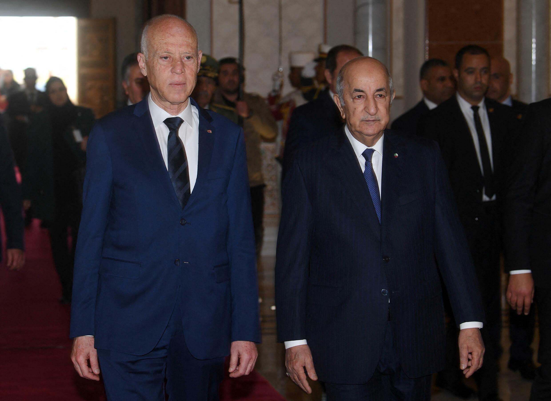 Kaïs Saïed - Abdelmadjid Tebboune - Algérie - Tunisie