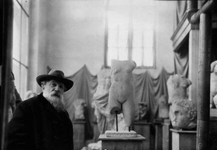 Nhà điêu khắc Auguste Rodin (Albert Harlingue)