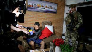O traficante brasileiro Carlos Eduardo Sales Cardoso, conhecido como Capilé, foi preso em Assunção, na capital do Paraguai.