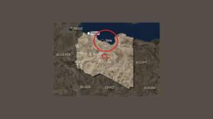 """موقعیت جغرافیایی شهر """"سیرت"""""""