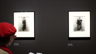 Ces deux portraits de Marcel Duchamp et d'Igor Stravinsky pris en 1948 par Irving Penn sont exposés au Grand Palais.
