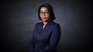 La Première ministre du Gabon, Rose christiane Ossouka Raponda.