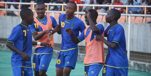 Wachezaji wa Serengeti Boys wakishangilia katika mojawapo ya michezo yao